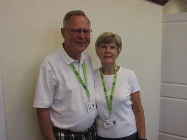Volunteers of the Months: Bill and Merilyn Leidel