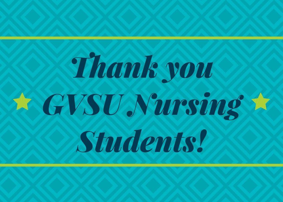 GVSU Nursing Students Partnership