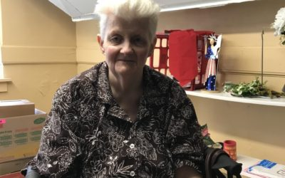 August 2019 Volunteer of the Month: Mary Ann Jacokes