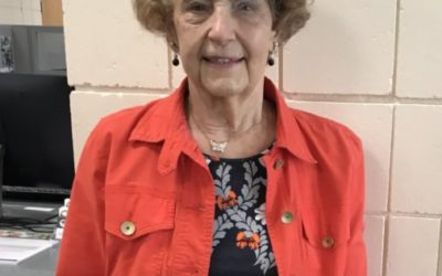 Honoring Betty Oosterhouse as our Volunteer of the Month of October!
