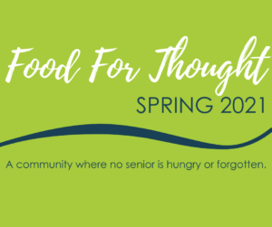 Enjoy our Spring Food For Thought!