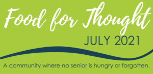 Enjoy our July Food For Thought!